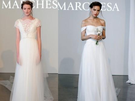 Xu hướng váy cưới nổi bật mùa xuân 2015