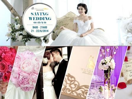Hội chợ Cưới tiết kiệm 2014 giảm giá 30-70% dịch vụ cưới