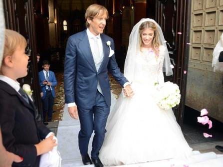 Đám cưới cựu danh thủ bóng đá Ambrosini của đội tuyển Ý