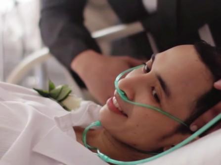 Đám cưới cảm động của chàng trai ung thư gan giai đoạn cuối