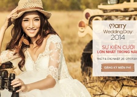 MarryWedding Day 2014 - Sự kiện cưới lớn nhất trong năm