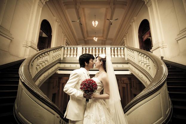 Địa điểm chụp ảnh cưới: Bảo tàng thành phố Hồ Chí Minh