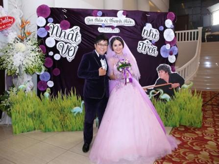 Đám cưới hạnh phúc của diễn viên Gia Bảo - Thanh Hiền