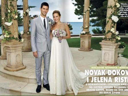 Đám cưới hạnh phúc trong mơ của Novak Djokovic