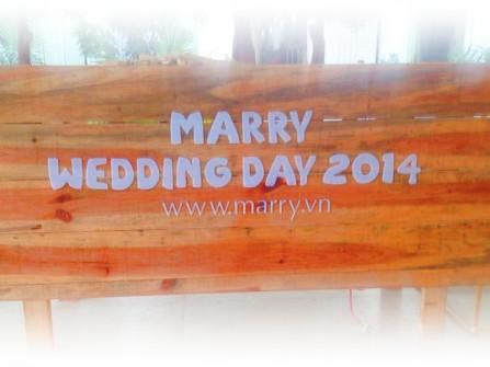 Rộn ràng chuẩn bị cho MarryWedding Day 2014