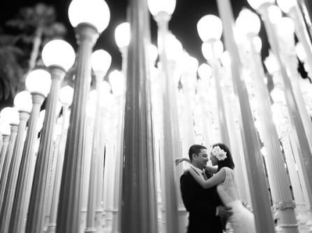 Bộ ảnh cưới đen trắng của Kim Hiền tại Mỹ