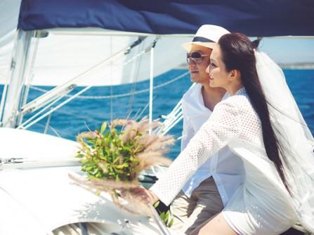 Bộ ảnh cưới tuyệt đẹp của Kim Hiền tại Mỹ