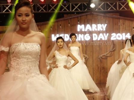 Những bộ áo cưới lộng lẫy nhất chỉ có tại MarryWedding Day 2014