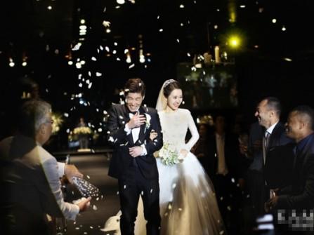 Đám cưới rộn ràng niềm vui của Park Ji Sung