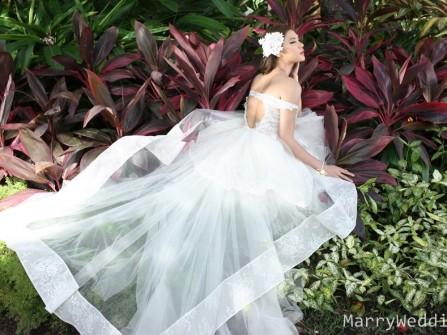 BST váy cưới Thiên Đường Màu Xanh