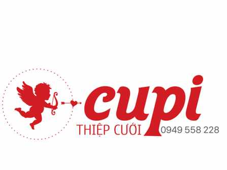 Thiệp cưới Cupi