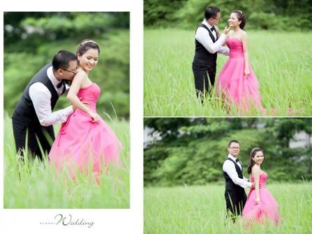 Địa điểm chụp ảnh cưới: cánh đồng cỏ lau, quận 7