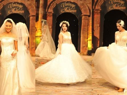 Những mẫu váy cưới đẹp tại MarryWedding Day Hà Nội 2014