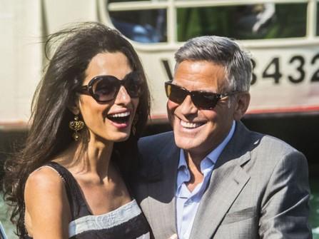 Cận cảnh đám cưới xa hoa của tài tử George Clooney