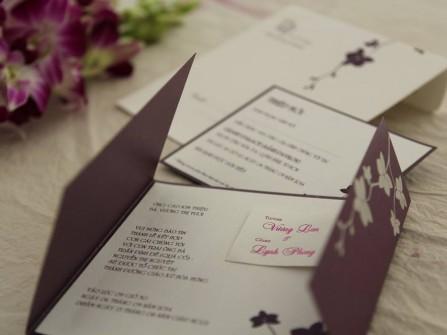 Thiệp cưới Phong Lan