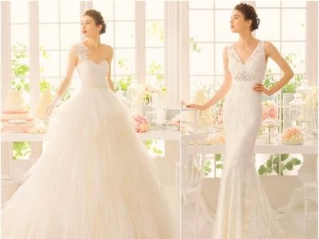 Bộ sưu tập váy cưới Aire Barcelona mùa xuân 2015