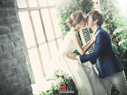 Chae Rim ngập tràn hạnh phúc trong lễ cưới