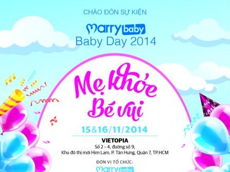 Sự kiện Marrybaby Baby Day lần đầu tiên được tổ chức