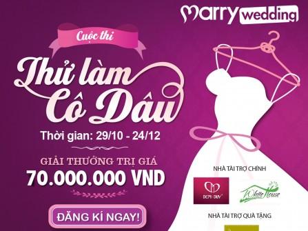 """Kết quả tuần 5 cuộc thi: """"Thử làm cô dâu"""" cùng Marry.vn"""