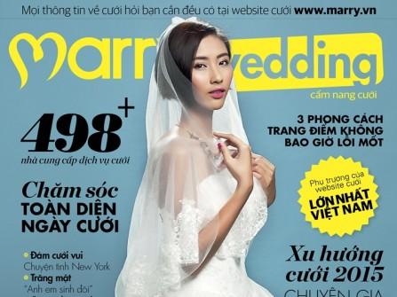 Đón đọc cẩm nang MarryWedding tháng 12-2014