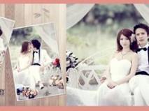 """Ô"" wedding photo"