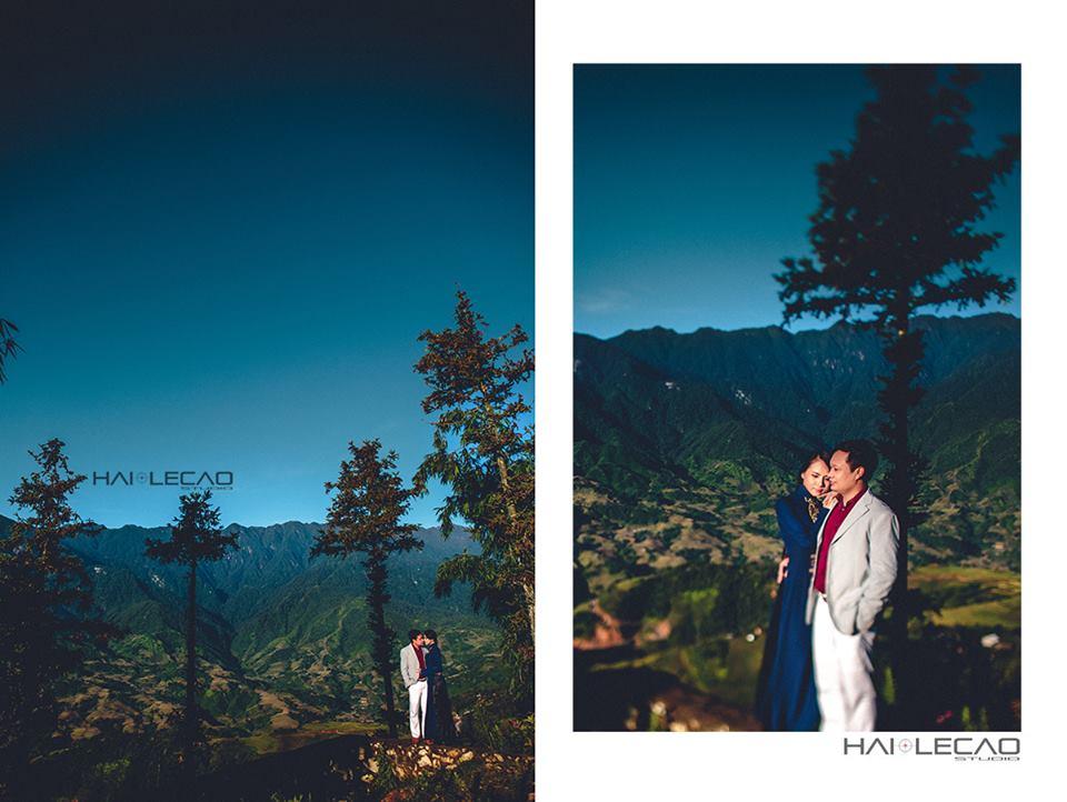 Địa điểm chụp ảnh cưới: Núi đồi Sapa, Lào Cai