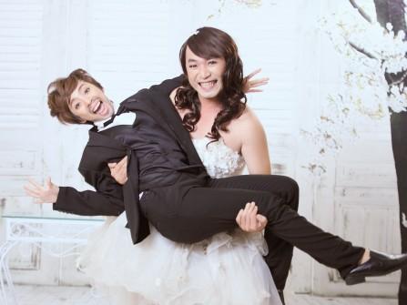 Thu Trang tung hình cưới hài hước