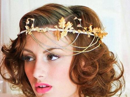 Tóc cô dâu kiểu nữ thần Hy Lạp