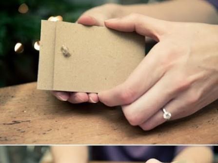 Thiệp cưới đẹp phong cách rustic thô sơ