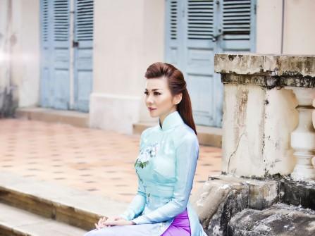 Áo dài cưới Liên Hương