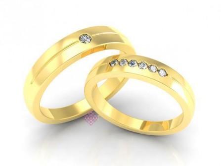 Nhẫn cưới Bảo Tín K&K