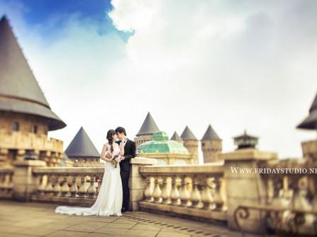 Địa điểm chụp ảnh cưới: Bana Hills