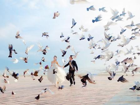 Địa điểm chụp ảnh cưới: Công viên Biển Đông, Đà Nẵng