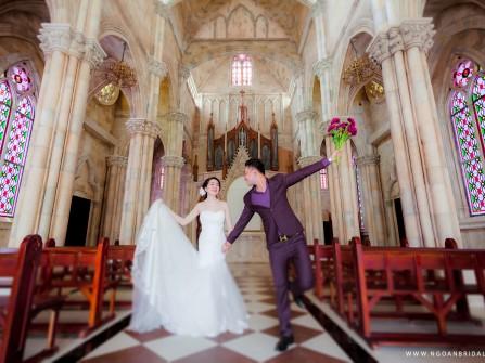 Ảnh cưới đẹp Đà Nẵng - Bà Nà