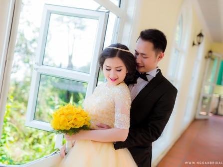 Chụp ảnh cưới Đà Nẵng - Bà Nà