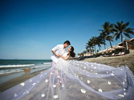 Địa điểm chụp ảnh cưới: Bán đảo Sơn Trà, Đà Nẵng