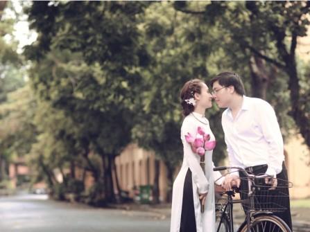 Kinh nghiệm chụp ảnh cưới: Trang phục cho ảnh cưới truyền thống