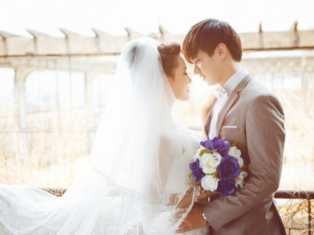 Studio ảnh cưới trẻ trung, phong cách cho ngày trọng đại