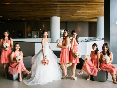 Bí quyết trang điểm cưới cho dàn phụ dâu