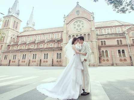 7 địa điểm chụp ảnh cưới miễn phí tuyệt đẹp ở TP.HCM
