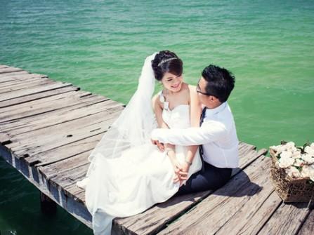 Địa điểm chụp ảnh cưới: Cầu cảng Vân Đồn, Quảng Ninh