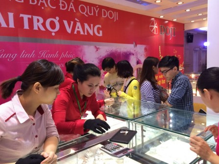Háo hức sắm nhẫn cưới DOJI tại Marry Wedding Day Đà Nẵng 2015