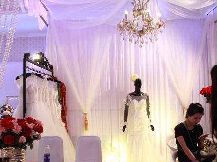 Trang trí gian hàng tuyệt đẹp tại Marry Wedding Day Đà Nẵng