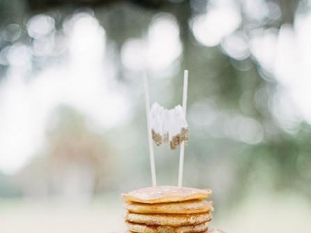 Bánh cưới độc đáo làm từ bánh pancake