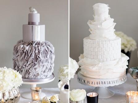Bánh cưới đẹp trang trí cầu kỳ, sang trọng
