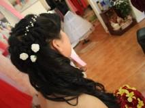 Trang điểm cô dâu Thu Vân