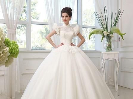Váy cưới đẹp màu trắng phong cách vintage