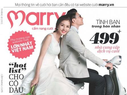 Đón đọc cẩm nang Marry số tháng 8.2015