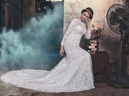 """BST váy cưới """"Giấc mơ tình yêu"""" nhẹ nhàng, tinh tế"""