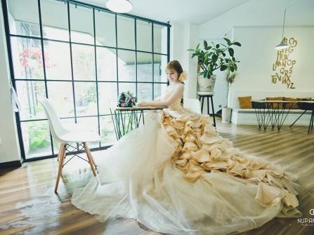 Xu hướng chụp ảnh cưới với váy đẹp như mơ cho cô dâu hiện đại